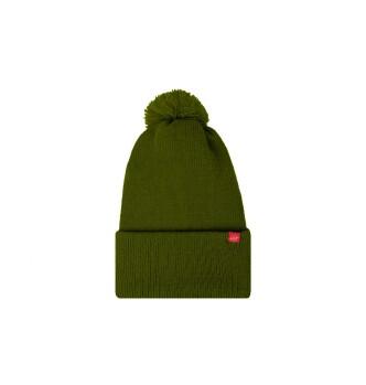 کلاه بافتنی سبز یشمی