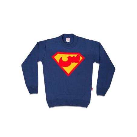 پلیور بافت سوپرمن